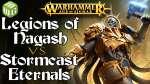 Legions of Nagash vs Stormcast Eternals Age of Sigmar Battle Report Ep 221