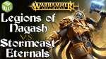 Legions of Nagash vs Stormcast Eternals Age of Sigmar Battle Report Ep 222