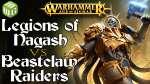 Legions of Nagash vs Beastclaw Raiders Age of Sigmar Battle Report Ep 223