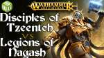 Disciples of Tzeentch vs Legions of Nagash Age of Sigmar Battle Report - War of the Realms Ep 231