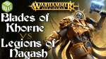 Blades of Khorne vs Legions of Nagash Age of sigmar Battle Report - War of the Realms Ep 239