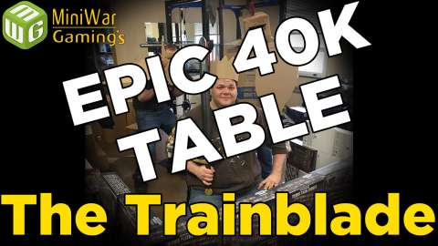 Building an Epic 40k Table