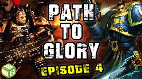 Path to Glory Chaos vs Space Marines