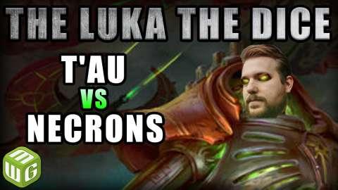Necrons vs Deathwatch Warhammer 40k Battle Report - Just the Luka