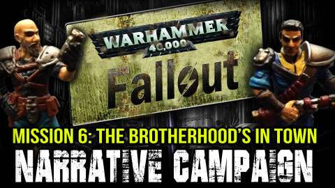 Warhammer 40k Fallout Narrative Campaign