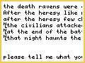 death ravens fluff?