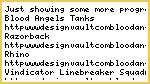 Blood Angels Tanks