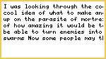 Parasite Of Mortrex Idea