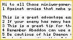 A Guide To Abaddon The Despoiler