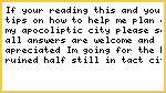 "My - ""Hope to build"" - Apocoliptic City"